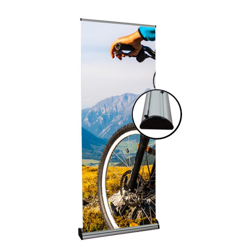 retractable banner stand